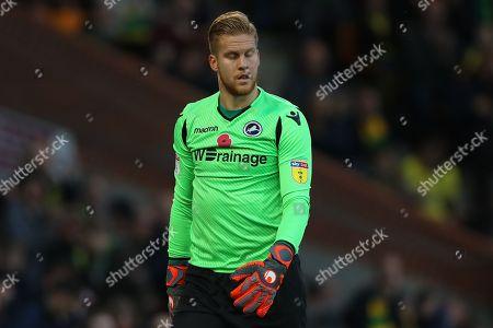 Ben Amos of Millwall - Norwich City v Millwall, Sky Bet Championship, Carrow Road, Norwich - 10th November 2018