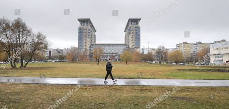 Editorial picture of Russia has named a square after the Cambridge Spy Ring traitor Kim Philby., Moscow, Russian Federation - 10 Nov 2018