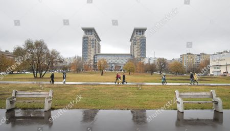Editorial image of Russia has named a square after the Cambridge Spy Ring traitor Kim Philby., Moscow, Russian Federation - 10 Nov 2018