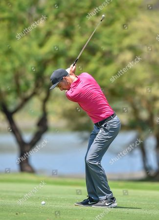 Ross Fisher of England in action during the third day of  the Nedbank Golf Challenge tournament in Sun City, South Africa, 10 November 2018.