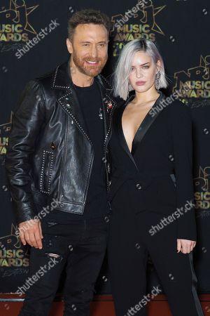 David Guetta and Jessica Ledon