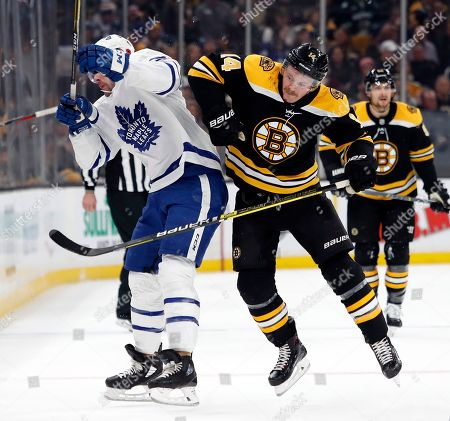 Editorial image of Maple Leafs Bruins Hockey, Boston, USA - 10 Nov 2018