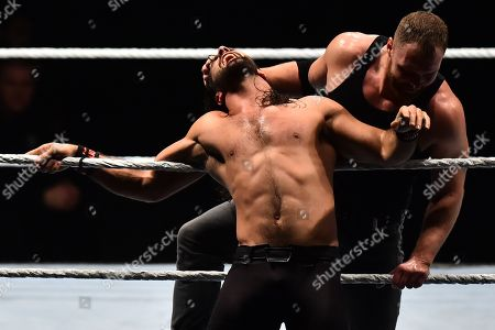Stock Photo of Seth Rollin vs Dean Ambrose