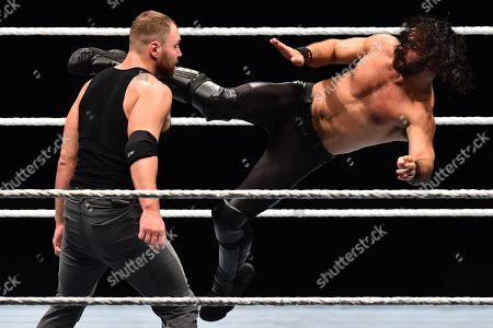 Stock Picture of Seth Rollin vs Dean Ambrose