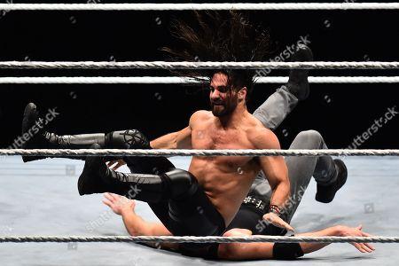Stock Photo of Seth Rollin vs Dean Ambrose