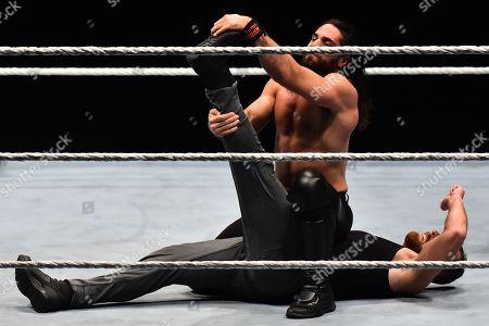 Stock Picture of Seth Rollin vs Dean Ambrose