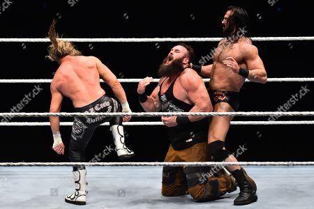 Drew McIntyre and Dolph Ziggler vs Braun Strowman