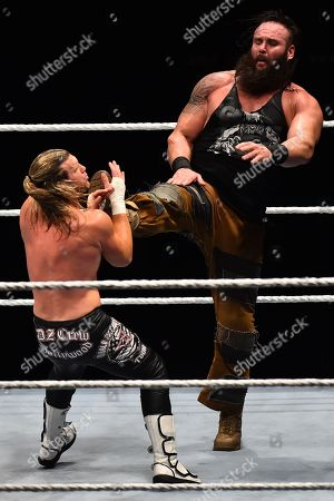 Stock Image of Braun Strowman and Dolph Ziggler