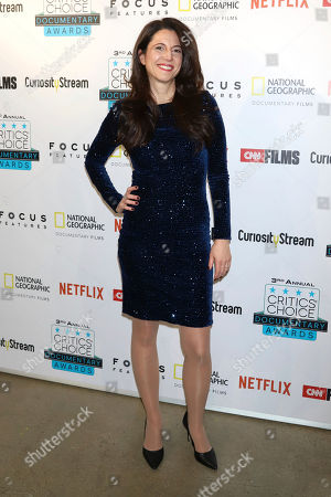 Heather Berlin attends the third annual Critics' Choice Documentary Awards at BRIC, in New York