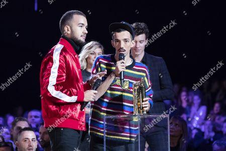 "Florian Ordonez & Olivio Ordonez receive ""Duo Francophone de l'Annee"""