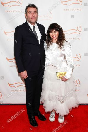 Craig Bierko, Frances Ruffelle. Craig Bierko, left, and Frances Ruffelle, right, attend the Michael J. Fox Foundation 2018 benefit gala at the New York Hilton Midtown, in New York
