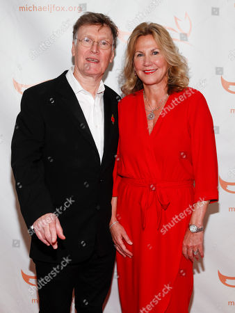Steve Winwood, Eugenia Winwood. Steve Winwood, left, and Eugenia Winwood, right, attend the Michael J. Fox Foundation 2018 benefit gala at the New York Hilton Midtown, in New York
