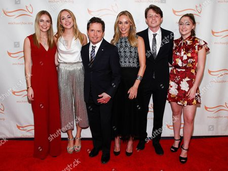 Editorial picture of Michael J. Fox Foundation 2018 Benefit Gala, New York, USA - 10 Nov 2018