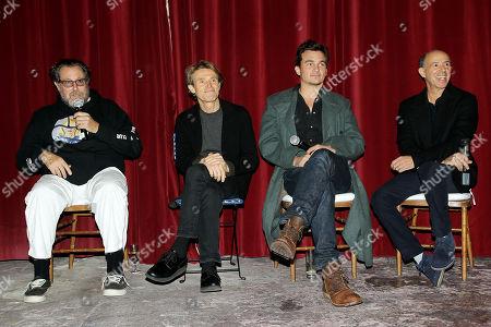 Julian Schnabel (Director), Willem Dafoe, Rupert Friend, Jon Kilik (Producer)
