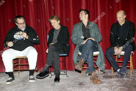 Stock Photo of Julian Schnabel (Director), Willem Dafoe, Rupert Friend, Jon Kilik (Producer)