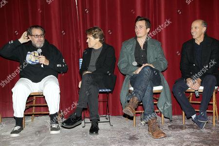 Stock Picture of Julian Schnabel (Director), Willem Dafoe, Rupert Friend, Jon Kilik (Producer)