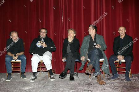 Kent Jones (moderator), Julian Schnabel (Director), Willem Dafoe, Rupert Friend, Jon Kilik (Producer)