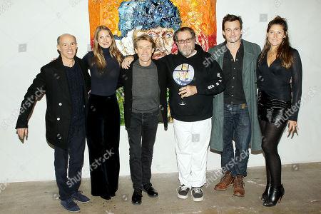 Jon Kilik (Producer), Louise Kugelberg (Editor), Willem Dafoe, Julian Schnabel (Director), Rupert Friend, Stella Schnabel
