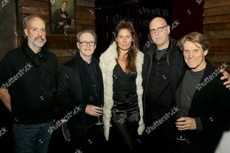 Kent Jones, Steve Buscemi, Stella Schnabel, Oren Moverman, Willem Dafoe