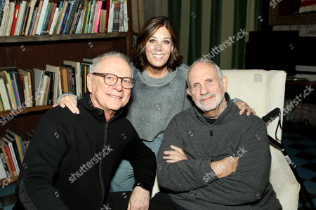 Barry Levinson, Peggy Siegal, Brian De Palma