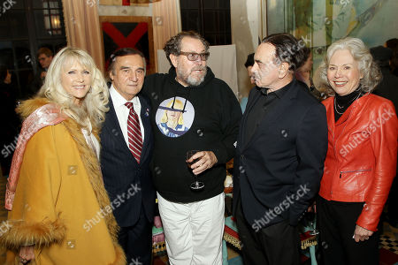 Alyse Lo Bianco, Tony Lo Bianco, Julian Schnabel, Dan Hedaya, Kathryn Leigh Scott