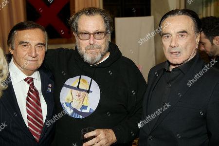 Stock Picture of Tony Lo Bianco, Julian Schnabel (Director), Dan Hedaya