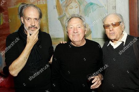 Kent Jones, Israel Horovitz, Bob Dishy