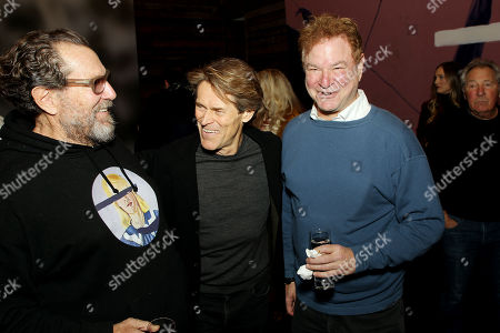 """Editorial picture of New York Special Screening and Reception for CBS Films' """"At Eternity's Gate"""" directed by Julian Schnabel, USA - 10 Nov 2018"""