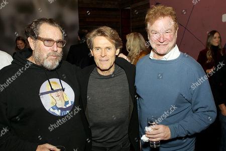 Julian Schnabel (Director), Willem Dafoe, Robert Wuhl