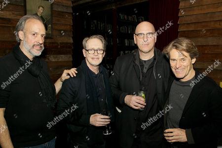 Kent Jones, Steve Buscemi, Oren Moverman, Willem Dafoe