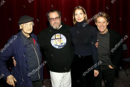 Jonas Mekas, Julian Schnabel (Director), Louise Kugelberg (Editor), Willem Dafoe