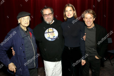 """Editorial photo of New York Special Screening and Reception for CBS Films' """"At Eternity's Gate"""" directed by Julian Schnabel, USA - 10 Nov 2018"""