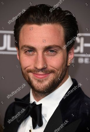 Aaron Taylor-Johnson attends the 2018 Baby2Baby Gala on in Culver City, Calif