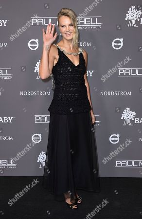 Kelly Sawyer Patricof attends the 2018 Baby2Baby Gala on in Culver City, Calif