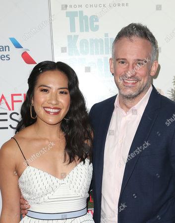 Melissa Tang, her husband