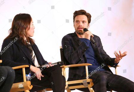 "Karyn Kusama, Sebastian Stan. Karyn Kusama and Sebastian Stan seen at the Annapurna Pictures ""Destroyer"" Special Screening, in Los Angeles"