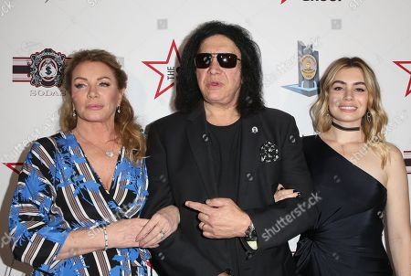Shannon Tweed, Gene Simmons, Sophie Simmons