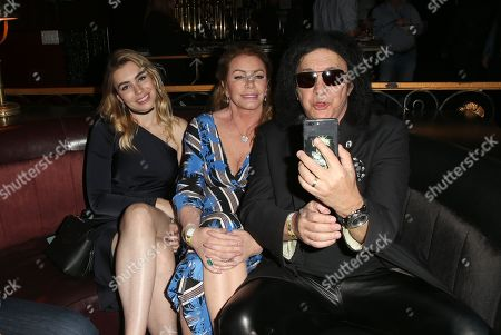 Sophie Simmons, Shannon Tweed, Gene Simmons