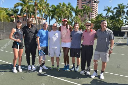 Ajla Tomljanovic, Seal, Jamie McShane, Guest, Lisa Leslie, Shawn Hatosy, Guest and Chris Noth