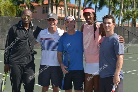 Seal, Guest, Jamie McShane, Lisa Leslie and Shawn Hatosy