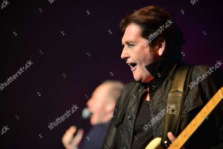 Charlie Burchill of Simple Minds