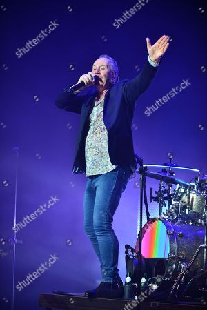 Stock Image of Jim Kerr of Simple Minds