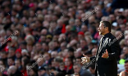 Editorial image of Liverpool v Fulham, Premier League, Football, Anfield, Liverpool, UK - 11 Nov 2018
