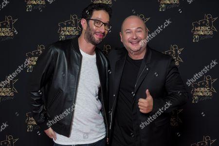 Emmanuel Levy and Sebastien Cauet