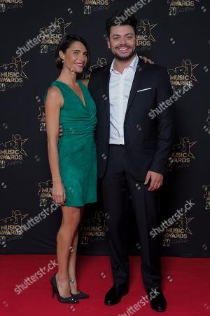 Alessandra Sublet and Kev Adams