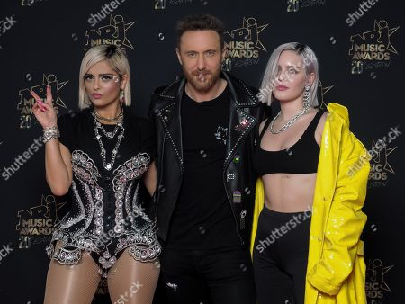 Bebe Rexha, DJ David Guetta and Anne-Marie