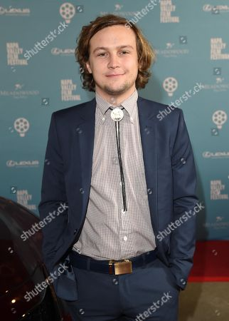 Logan Miller attends the 2018 Napa Valley Film Festival, Festival Gala, held at CIA at Copia