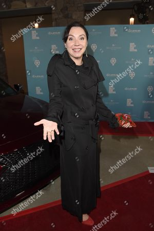 Stephanie Courtney attends the 2018 Napa Valley Film Festival, Festival Gala, held at CIA at Copia