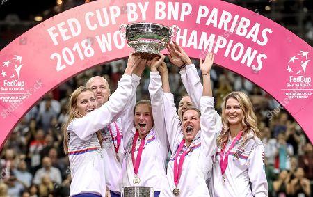 Czech Republic v USA, Fed Cup final, Day 2