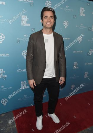 Stock Image of Stephan Paternot attends the 2018 Napa Valley Film Festival, Valley Of The Boom Screening, held at the Lincoln Theatre